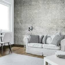 details zu fototapete betonoptik vlies tapete grau loft industrial factory mauer wohnzimmer