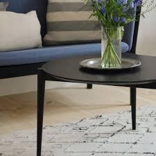 fdb møbler d102 søs ø55 couchtisch schwarz kaufen