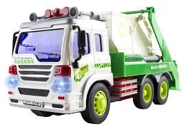 On Sale Remote Control Garbage Sanitation RC Truck 1:16 Four Channel ...