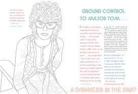 Amazon David Bowie Starman A Coloring Book