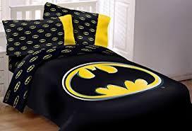 amazon com batman emblem 3 piece reversible super soft luxury
