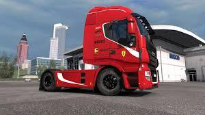 100 Ferrari Truck IVECO HIWAY SCUDERIA FERRARI FORMULA ONE TEAM EDITION 130X TRUCK