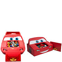 Lighting Mcqueen Toddler Bed by Disney Pixar Cars Convertible Toddler To Twin Bed With Lights And