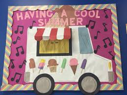 Kindergarten Pumpkin Patch Bulletin Board by Having A Cool Summer Bulletin Board Ice Cream Ms Yadi U0027s