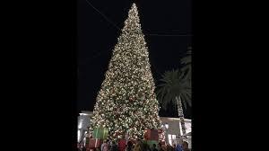 Fashion Island Christmas Tree Lighting Ceremony 11 2016