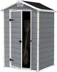 Keter Manor 4x6 Storage Shed by Keter Manor Resin Booth 4x3 128x94x196cm U2014 Garden Jardinitis