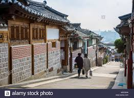 100 South Korean Houses Traditional Houses In The Bukchon Hanok Village