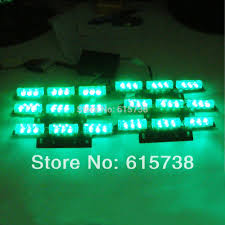 100 Truck Emergency Lights Green White Amber Red Blue 6x9 LED Snow Plow Car Boat Warning