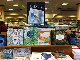 Adult Coloring Books Are Prominently Displayed In Multiples Areas At Barnes Noble 2191 N