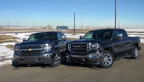 2016 Chevy Silverado 5.3L Vs GMC Sierra 6.2L - ChevyTV Gmc Comparison 2018 Sierra Vs Silverado Medlin Buick F150 Linwood Chevrolet Gmc Denali Vs Chevy High Country Car News And 2017 Ltz Vs Slt Semilux Shdown 2500hd 2015 Overview Cargurus Compare 1500 Lowe Syracuse Ny Bill Rapp Ram Trucks Colorado Z71 Canyon All Terrain Gm Reveals New Front End Design For Hd