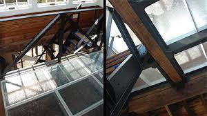 Glass Floor Decking Landing