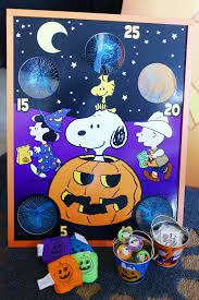 Snoopy Halloween Pumpkin Carving by Peanuts The Great Pumpkin Rises Sound Ornament With Light 1965