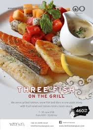 fish cuisine tenface three fish on the grill thaihoteldeal com