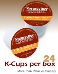 Newmans Own Special Decaf Coffee Keurig 96 K Cups
