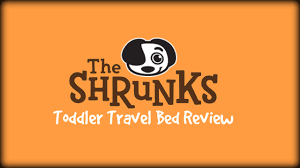 the shrunks toddler travel bed review youtube