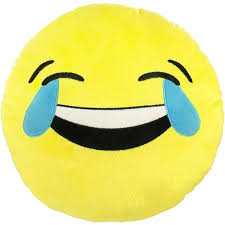 Emoji Expressions Laughing And Crying Pillow