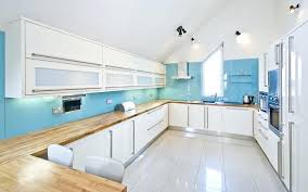 white and blue kitchen cabinets white color for kitchen