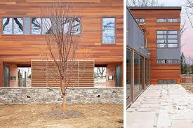 104 Contemporary Cedar Siding Res4 Resolution 4 Architecture Country Retreat Modern Modular Home