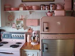 Pink Retro Kitchen Cute Home Vintage Inspiration Ideas Appliances
