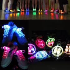 2win2buy 5 pairs waterproof luminous led shoelaces fashion light