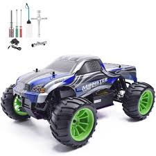 100 Remote Control Gas Trucks HSP 110 Scale Rc Car Nitro Power 4wd Off Road Truck 94108 High