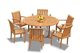 Amazon.com: Grade-A Teak Wood Dining Set 6 Seater 7 Pc: 60