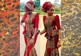 West African Wedding Guest Dress