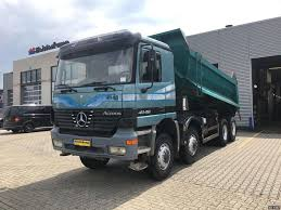 MERCEDES-BENZ Actros 4148 Day Cab, Euro 2, - V8 / Manual Dump Trucks ...