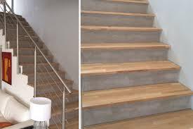 beton cire sur escalier bois beton cire sur bois sol en bton cir escalier bois en bton cir