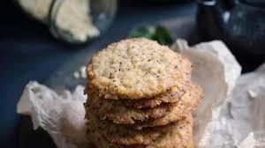 hafer chia plätzchen weihnachtsbäckerei geht auch vegan