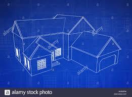 100 House Design Project Blue House Building Model Design Project Concept Plan