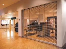 Decorative Security Bars For Windows And Doors by Rolling U0026 Sliding Accordion Security Grilles Clopay Commercial