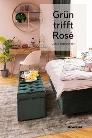 grün trifft rosé schlafzimmer schlafzimmer