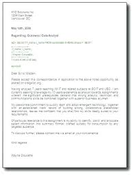 Ubc Engineering Coop Cover Letter Template Example