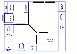6x8 Bathroom Floor Plan by Bathroom Floor Plans With Walk In Closets Home Decorating