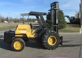 1997 Mastercraft Scrambler S-8-PFW7 Rough Terrain Forklift |...