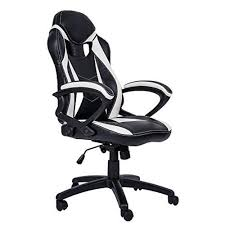 Merax Ergonomic Gaming Chair Leather Adjustable Executive High Back Swivel  Office Chair - White Xtrempro G1 22052 Highback Gaming Chair Blackred Details About Ergonomic Racing Gaming Chair High Back Swivel Leather Footrest Office Desk Seat Design Computer Axe Series Blackred Check Out Techni Sport Racer Style Video Purple Shopyourway Topsky Pu Executive Merax 217lx 217w X524h Blue Amazoncom Mooseng New Lumbar Support And Headrest Akracing Masters Premium Highback Carbon Black Energy Pro