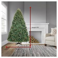 Balsam Christmas Tree Care by Philips 7 5ft Prelit Artificial Christmas Tree Balsam Fir Clear