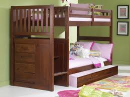 Twin Over Twin Bunk Beds With Trundle by Our Sturdiest Bunk Beds