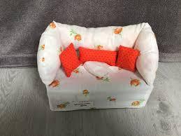 deko sofa kosmetikbox sofa taschentücherbox sofa apricot apricot kissen