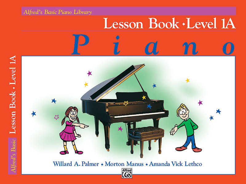 Alfred's Basic Piano Library Lesson Book - Alfred Publishing Co