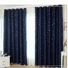 Modern Window Curtains For Living Room by 1pc 2016 Modern Little Stars Blackout Window Curtains For Living