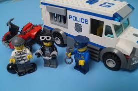 100 Lego Police Truck City Set No 60043 Blue Orange