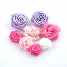 Good How To Make Handmade Flowers From Ribbon Step By With