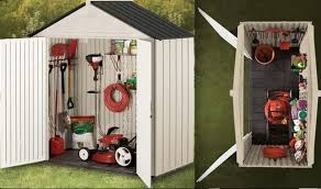 Rubbermaid Vertical Storage Shed by New Rubbermaid Big Max Jr Storage Shed 76 On Keter Manor Outdoor