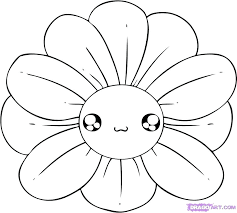 pictures of flowers to draw easy to draw flowers how to draw a flower step 4