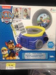 Thomas The Train Potty Chair by 3 In 1 Disney Paw Patrol Set Walmart Com