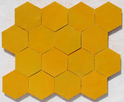 Trikeenan Basics Tile In Outer Galaxy by Sparkling Yellow Zellige Tile Zellige Pinterest Natural