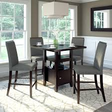 5 Piece Counter Height Dining Room Sets by Corliving Bistro 5 Piece Counter Height Rich Dining Set