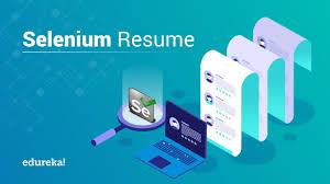 Selenium Resume | Automation Tester Resume | Edureka